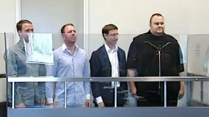 Vier Megaupload-Betreiber vor Gericht in Neuseeland
