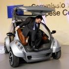 Hiriko: Prototyp des MIT-Elektrofaltautos vorgestellt