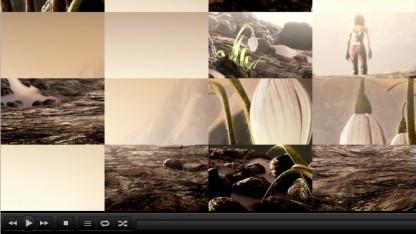 VLC 2.0 mit Puzzle-Effekt