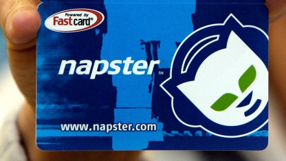 Napster-Prepaid-Karte aus dem Jahr 2003