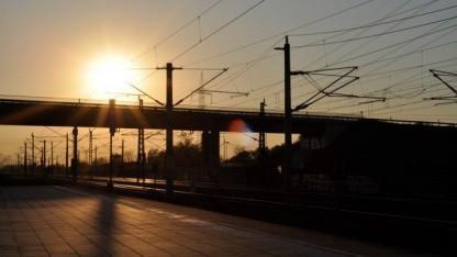 Gleisanlagen bei Berlin: anfällig für Cyberattacken