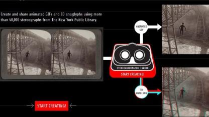 Stereogranimator: Stereoskopien werden wieder dreidimensional.