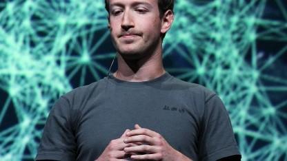 Facebook-Chef Mark Zuckerberg im September 2011