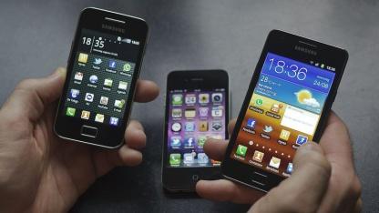 Smartphones: Schlüssel stehlen, wenn er genutzt wird