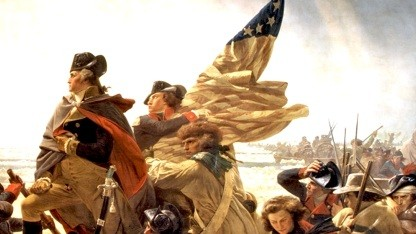 Washington Crossing the Delaware, Emanuel Leutze