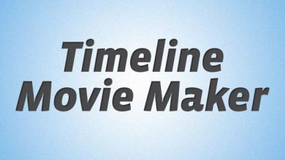 Timeline Movie Maker macht aus der Chronik ein hübsches Werbevideo.