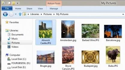 Windows 8 Beta erhält verbesserten Explorer