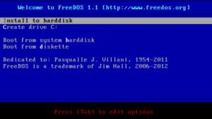 FreeDOS 1.1 ist nach sechsjähriger Entwicklungszeit veröffentlicht worden.