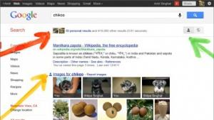 Persönliche Ergebnisse in der Google-Suche
