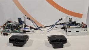 Prototyp eines Buffalo-Routers für Gigabit-WLAN