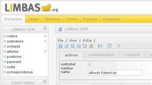 Mit Limbas 2.3 können Datenbankanwendungen auch für Microsoft SQL erstellt werden.
