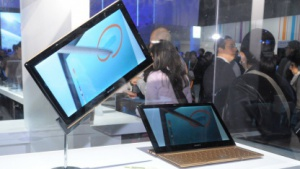 CES: Sony zeigt Hybrid-Notebook