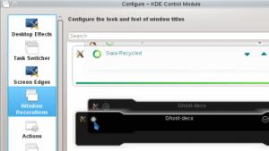 Aurorae 3 soll als Theme Engine in KDE SC 4.9 integriert werden.