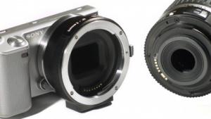 Adapter: Canon-Objektive mit Bildstabilisierung an Sony NEX