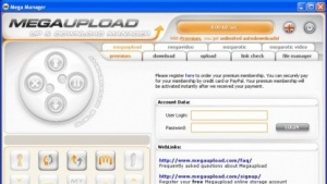 Megaupload Manager
