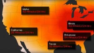 24 Prozent mehr Angriffe im Netz als normal