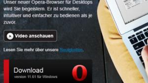 Opera 11.61 ist da.