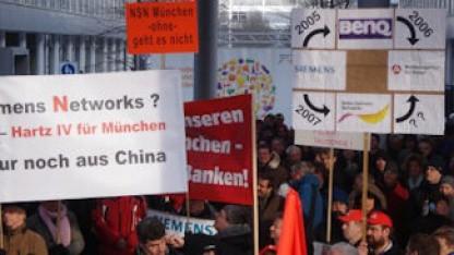 Demonstration am 1. Februar 2012