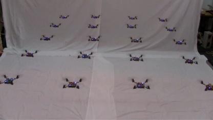 Drohnen  im Schwarm