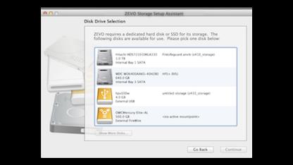 Zevo bringt ZFS-Unterstützung für Mac OS X.