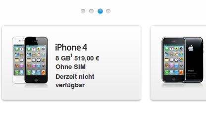 Im deutschen Apple-Onlinestore dürfen iPhones weiter verkauft werden.