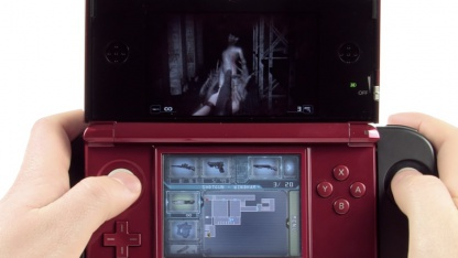 Roter 3DS mit Circle Pad Pro