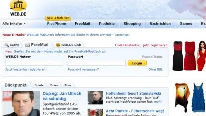 Web.de erweitert Onlinespeicher.