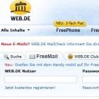 Web.de: Kunden erhalten 1,5 GByte Onlinespeicher