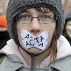 Acta: Deutschland setzt Unterzeichnung von Acta aus
