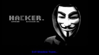 Evilshadow hinterlässt Botschaft im indischen Microsoft Store.
