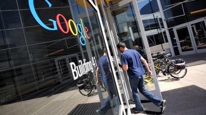 Google-Hauptsitz in Mountain View, Kalifornien