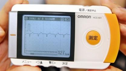 Mobiles EKG-Messgerät: Verschlüsselung durch Herzrhythmus