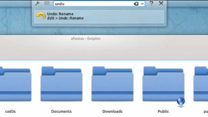 Ein neues KRunner-Plugin soll Funktionen von Anwendungsmenüs bereitstellen.