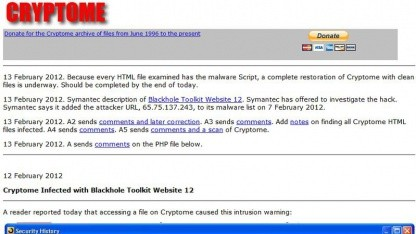 Cryptome: alle HTML-Dateien betroffen