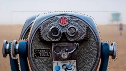 Content-Aware Move verschiebt Objekte im Bild.