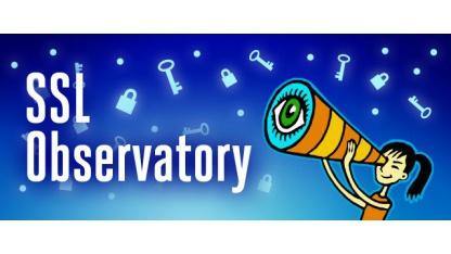 Das SSL-Observatory der EFF half bei der Schlüsselbeschaffung.