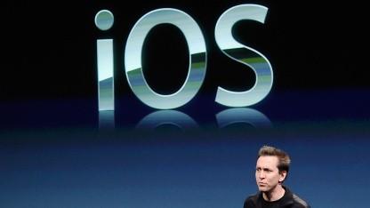 Apples iOS erstmals auf dem zweiten Platz