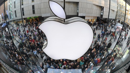 Apple Store in München im Jahr 2011