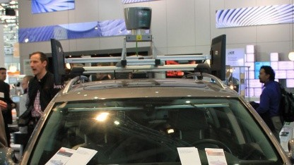 Braunschweiger Roboterauto Leonie: Nevada öffnet sich der Zukunft des Autos.
