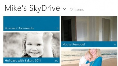 Skydrive in Windows 8