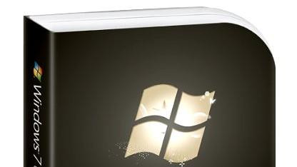 Einzelhandelsverpackung von Windows 7 Ultimate
