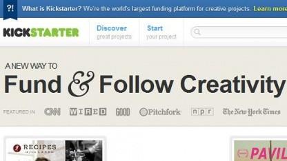 Kickstarter: Kreativität sehr weit gefasst