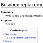 Bradley Kuhn: Streit um Busybox-Alternative beigelegt