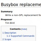 Bradley Kuhn: Streit um Busybox-Alternative beigelegt