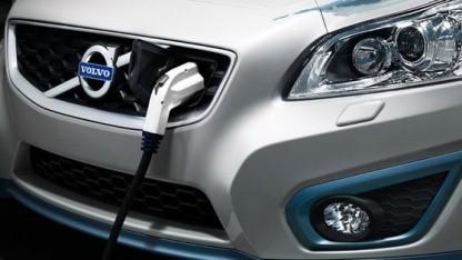 Volvo C30 Electric: Strommenge oder Geldbetrag eingeben