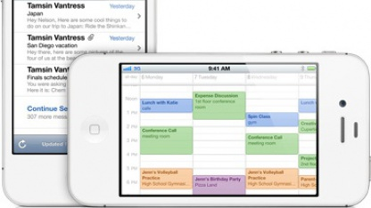 Mail und Kalender auf dem iPhone