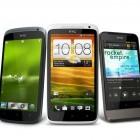 HTC One: Drei neue Android-4.0-Smartphones mit lichtstarken Kameras