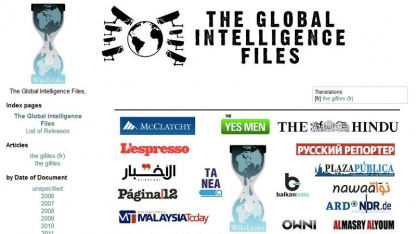 Global Intelligence Files: neue Medienpartner