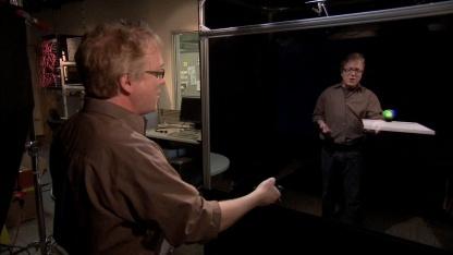 Holoflector: Interaktion mit dem Spiegel