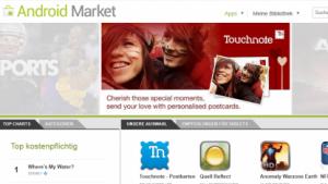 Bouncer agiert innerhalb des Android Market.